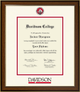 Davidson College Diploma Frame - Dimensions Diploma Frame in Westwood
