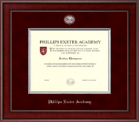 Phillips Exeter Academy Diploma Frame - Presidential Masterpiece Diploma Frame in Jefferson