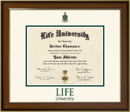 Life University Diploma Frame - Dimensions Diploma Frame in Westwood