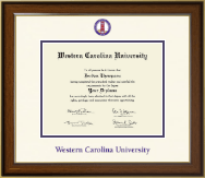 Western Carolina University Diploma Frame - Dimensions Diploma Frame in Westwood