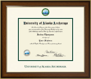 University of Alaska Anchorage Diploma Frame - Dimensions Diploma Frame in Westwood