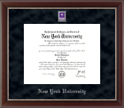New York University Diploma Frame - Spirit Medallion Diploma Frame in Chateau