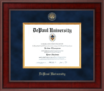 DePaul University Diploma Frame - Presidential Masterpiece Diploma Frame in Jefferson