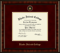 Rhode Island College Diploma Frame - Heirloom Edition Diploma Frame in Ridgewood