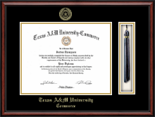 Texas A&M University - Commerce Diploma Frame - Tassel Edition Diploma Frame in Southport