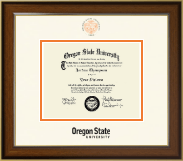 Oregon State University Diploma Frame - Dimensions Diploma Frame in Westwood