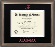 The University of Alabama Tuscaloosa Diploma Frame - Dimensions Diploma Frame in Easton