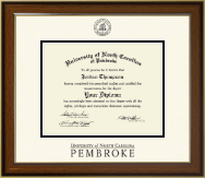 University of North Carolina at Pembroke Diploma Frame - Dimensions Diploma Frame in Westwood