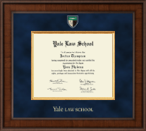 Yale University Diploma Frame - Presidential Masterpiece Diploma Frame in Madison