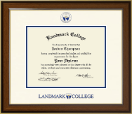 Landmark College Diploma Frame - Dimensions Diploma Frame in Westwood