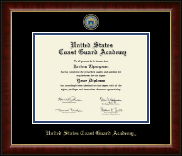 United States Coast Guard Academy Diploma Frame - Masterpiece Medallion Diploma Frame in Murano
