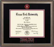 Texas Tech University Diploma Frame - Dimensions Diploma Frame in Easton