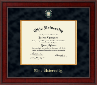 Ohio University Diploma Frame - Presidential Masterpiece Diploma Frame in Jefferson