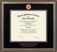 Virginia Tech Diploma Frame - Dimensions Diploma Frame in Easton