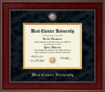 West Chester University Diploma Frame - Presidential Masterpiece Diploma Frame in Jefferson
