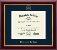 Messiah College Diploma Frame - Gold Embossed Diploma Frame in Gallery