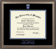 The University of Memphis Diploma Frame - Dimensions Diploma Frame in Easton