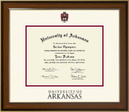 University of Arkansas Diploma Frame - Dimensions Diploma Frame in Westwood