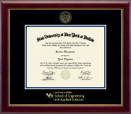 University at Buffalo Diploma Frame - Gold Embossed Diploma Frame in Gallery