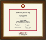 Denison University  Diploma Frame - Dimensions Diploma Frame in Westwood