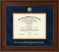 The George Washington University Diploma Frame - Presidential Masterpiece Diploma Frame in Madison