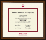 Stevens Institute of Technology Diploma Frame - Dimensions Diploma Frame in Westwood