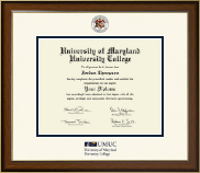 University of Maryland University College Diploma Frame - Dimensions Diploma Frame in Westwood