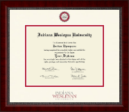 Indiana Wesleyan University  Diploma Frame - Dimensions Diploma Frame in Sutton