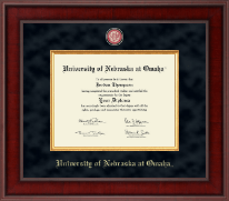 University of  Nebraska Omaha Diploma Frame - Presidential Masterpiece Diploma Frame in Jefferson