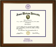 James Madison University Diploma Frame - Dimensions Diploma Frame in Westwood