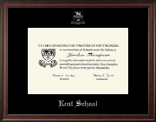 Kent School in Connecticut Diploma Frame - Silver Embossed Diploma Frame in Studio
