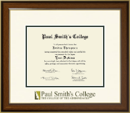 Paul Smith's College Diploma Frame - Dimensions Diploma Frame in Westwood