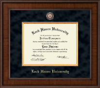 Lock Haven University Diploma Frame - Presidential Masterpiece Diploma Frame in Madison