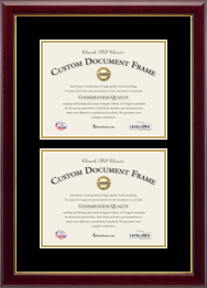 Custom Diploma Frames Amp Certificate Frames Church Hill