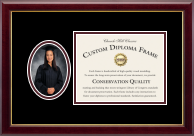 national graduate school of quality management diploma frames  senior portrait frame