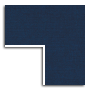 Navy Linen Primary Mat