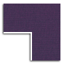 Purple Linen / Gold Fillet