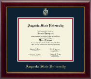 Augusta State University Diploma Frame - Gold Embossed Diploma Frame in Gallery