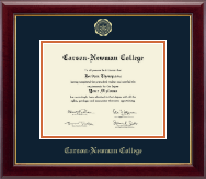 Carson-Newman College Diploma Frame - Gold Embossed Diploma Frame in Gallery