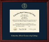 Columbus State Community College Diploma Frame - Gold Embossed Diploma Frame in Camby