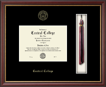 Central College Diploma Frame - Tassel Edition Diploma Frame in Newport