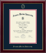 Francis Marion University Diploma Frame - Gold Embossed Diploma Frame in Gallery