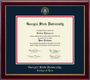 Georgia State University Diploma Frame - Gold Embossed Diploma Frame in Gallery
