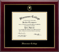 Hiwassee College Diploma Frame - Gold Embossed Diploma Frame in Gallery