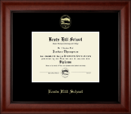 Kents Hill School Diploma Frame - Gold Embossed Diploma Frame in Cambridge