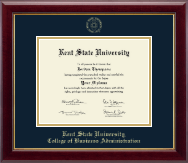 Kent State University Diploma Frame - Gold Embossed Diploma Frame in Gallery
