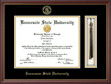 Kennesaw State University Diploma Frame - Tassel Edition Diploma Frame in Newport