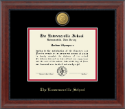The Lawrenceville Prep School Diploma Frame - 23K Medallion Diploma Frame in Signature