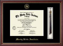 Moody Bible Institute Diploma Frame - Tassel Edition Diploma Frame in Newport