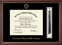 Northland Baptist Bible College Diploma Frame - Tassel Edition Diploma Frame in Newport